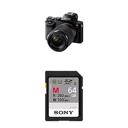 Amazon.com : Sony a7 Full-Frame Mirrorless Digital Camera with 28 ...