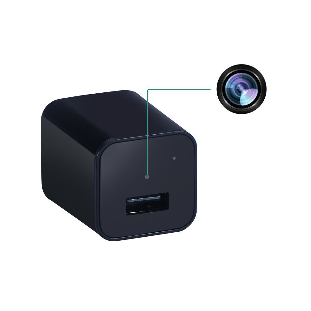 Spy Camera USB charger HD1080P Hidden cam 32 GB SD Included surveillance cam Nanny, hotel, monitor motion detection