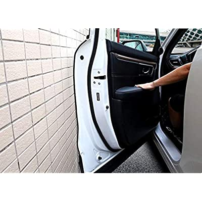 MATCC 13Ft( 4M) Car Door Edge Guards U Shape Edge Trim Rubber Seal Protector Car Protection Door Edge Fit for Most Car: Automotive