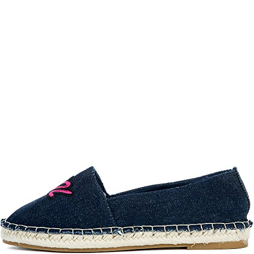 Bamboo Womens Maldives-36S Flat Casual Flat Blue qi0CT8fd
