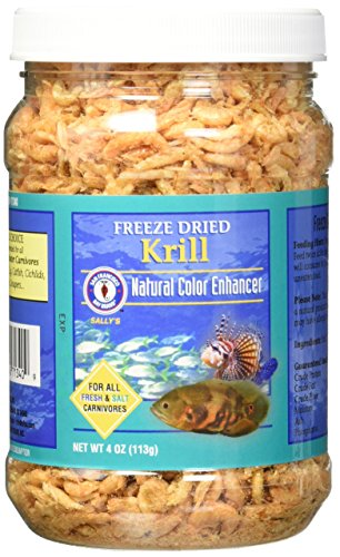 - San Francisco Bay Brand Asf71340 Freeze Dried Krill For Fresh And Saltwater Carnivores, 113Gm