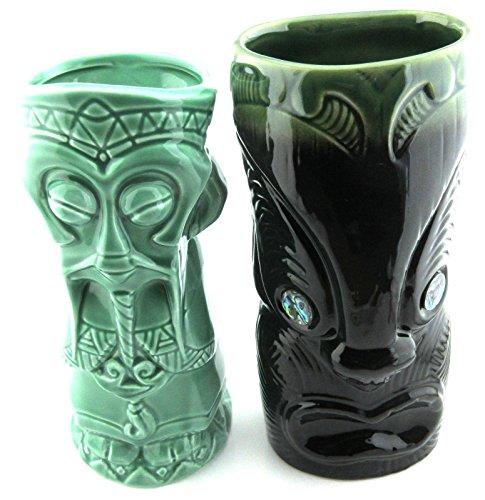 Ku Tiki Mask (2 Pc Lot Koruru and Fu Man Ku Tiki Mug)