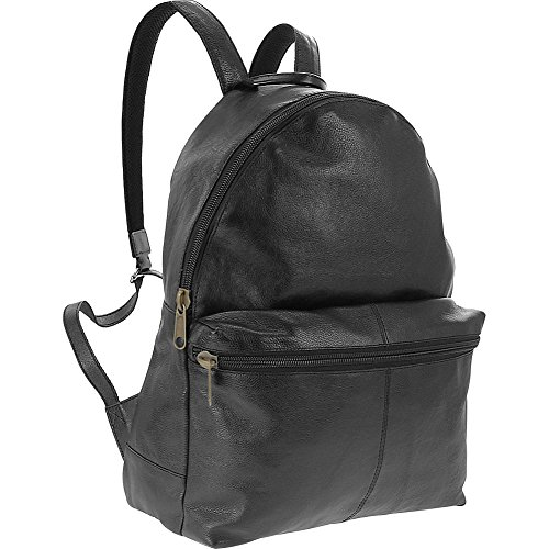 r-r-collections-genuine-leather-backpack-with-laptop-sleeve-black