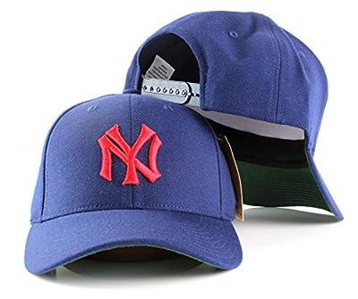 MLB American Needle Cooperstown Tradition Wool Adjustable Snapback Hat-New York Yankees