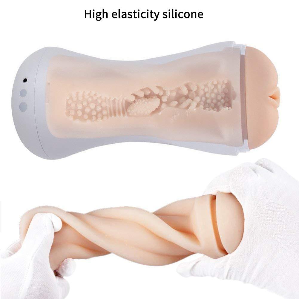 Urnight Sexspielzeug für männer Erotik Masturbator Sexy Frauenstimme Taschenmuschi Masturbieren Vibrator Elektrische Cup-Masturbatoren