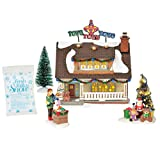 Department56 Original Snow Village The Toy House Lit Building and Accessories 7.09'' Multicolor