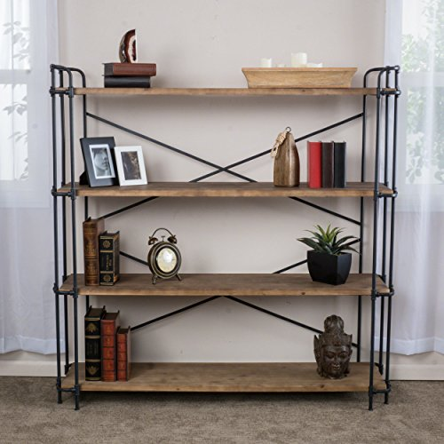 Great Deal Furniture Denise Austin Home Mercia 4-Shelf Bookcase Review