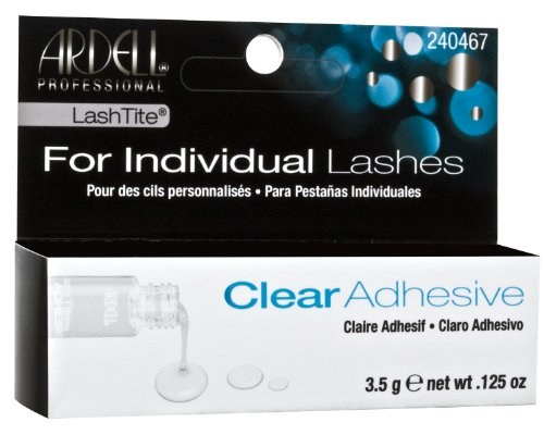Ardell Lashtite Adhesive Clear 0.125 Ounce Bottle (Black Package) (3.7ml)