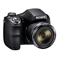 Sony Cyber-shot DSC-H300 20.1 MP Digital Camera - Black - Certified Refurbished