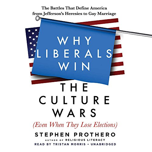 Why Liberals Win the Culture Wars Even When They Lose Elections: The Battles That Define America from Jefferson's Heresies to Gay Marriage; Library Edition by Blackstone Pub