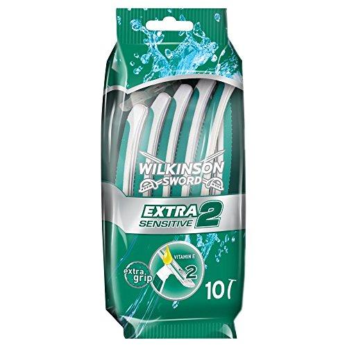 Wilkinson Sword Disposable Razors Sensitive, 10 razors