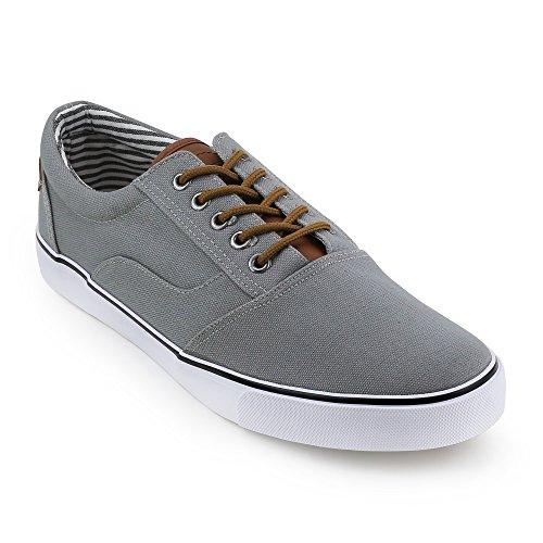 Unionbay Hombres Oak Harbor Low Top Sneaker Grey