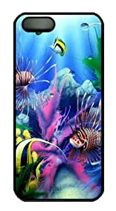 Cool Underwater World Custom iPhone 5s/5 Case Cover Polycarbonate Black