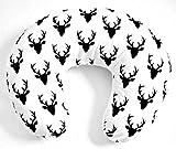 100% Premium Cotton Slipcover for Nursing Pillow - Cotton Deers
