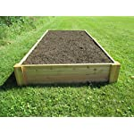 Infinite Cedar Raised Bed Garden Kit 4'x8'x11 8 Long-lasting raised garden beds made from rot resistant thick Western Red Cedar Boards Easy Assembly –Assembles in minutes and can be easily disassembled as needed. Strong, Quality build – 1″ thick premium quality deck boards combined with strong joint design will not bow under the weight of wet soil and will last for years.