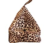 The Book Seat - Book Holder and Travel Pillow - Leopard