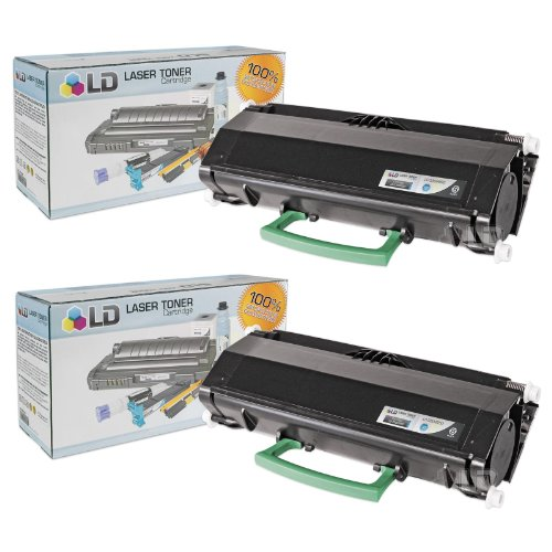 LD Compatible Dell 330-2650 (RR700) Set of 2 High Yield Black Toner Cartridges for Your Dell 2330/2350 Printers