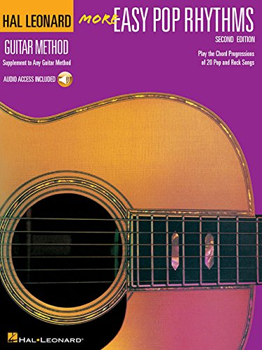 Easy Rhythm Guitar Books - More Easy Pop Rhythms: Correlates with Book 2 (Hal Leonard Guitar Method)