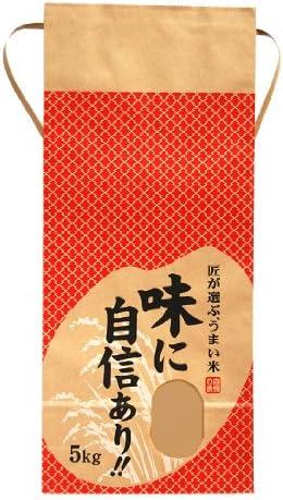 マルタカ クラフト 味に自信あり(銘柄なし) 5kg用紐付 20枚セット KH-0020