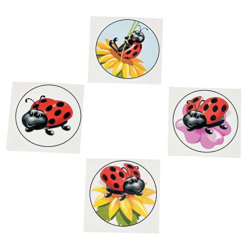 (Ladybug Tattoos (72 pc))