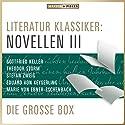 Literatur Klassiker: Novellen III Hörbuch von  div. Gesprochen von: Sven Görtz, Jürgen Fritsche