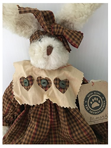 Boyds Plush Mimosa Rag Doll Rabbit 9110-10 from Boyds Bears