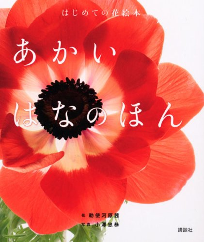 (Flower picture book for the first time) The Akai Hana (2008) ISBN: 4063786609 [Japanese Import]