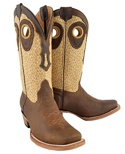 Womens Genuine Cow Hide Leather cowboy cowgirl Rodeo West...