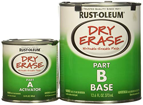 Rust-Oleum Dry Erase Kit 241140-2 PK Brush, White