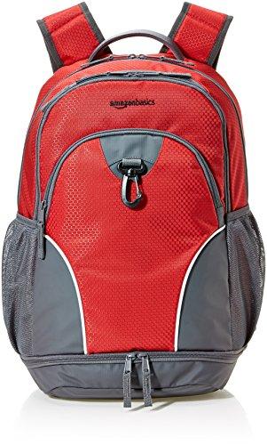 AmazonBasics Sport Laptop Backpack - Red