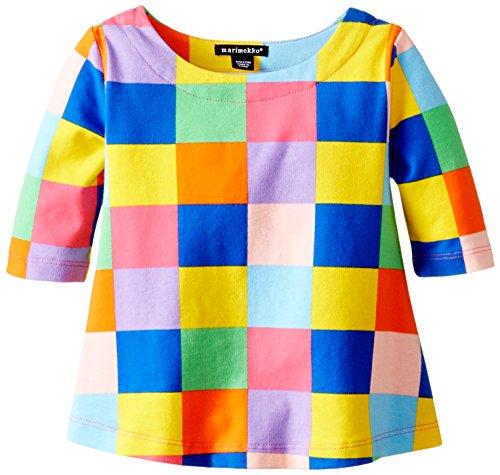 marimekko Baby Girls' Topo Blouse, Multi Color, 12 Months