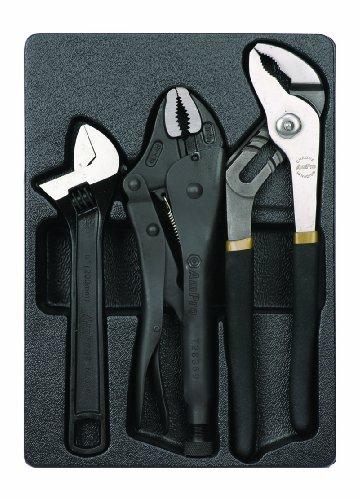 AMPRO T28394 Professional Pliers Set, 3-Piece