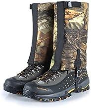 Camo Short Waterproof Snow Gaiters Leggings Cover Hiking Walking Hunting Trekking Short Legging Gaiters