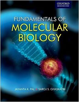 Amazoncom Fundamentals of Molecular Biology Oxford Higher