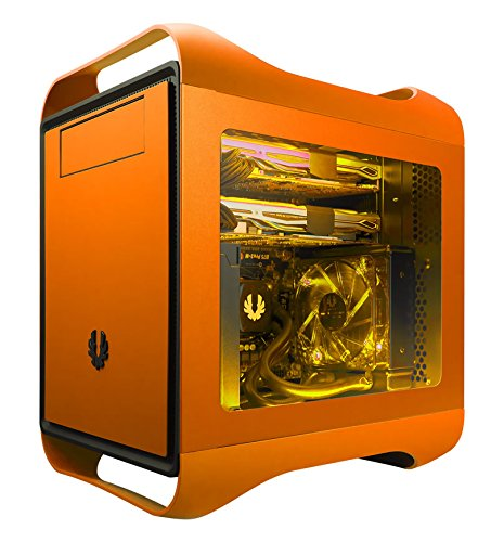 BitFenix Micro ATX, Mini-ITX Motherboard Cases BFC-PRM-300-OOWKK-RP Orange by BitFenix