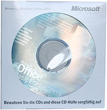 Office 2003 Basic Edition OEM