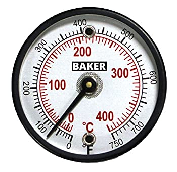 Baker Instruments 314FC Magnetic Surface Thermometer, 0 to 750°F (0 to 400°C)