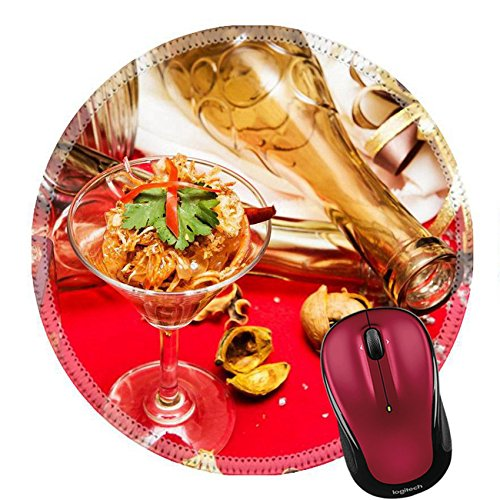 - Liili Round Mouse Pad Natural Rubber Mousepad IMAGE ID: 24745494 Pomelo Salad Thailand