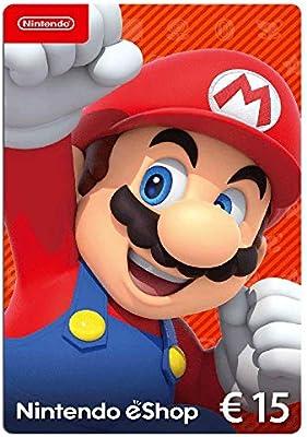 Nintendo eShop Tarjeta de regalo 15 EUR - Código de descarga ...