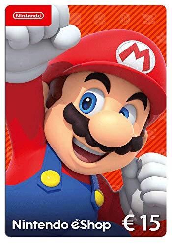 Nintendo eShop Tarjeta de regalo 15€ | Nintendo Switch – Código de descarga
