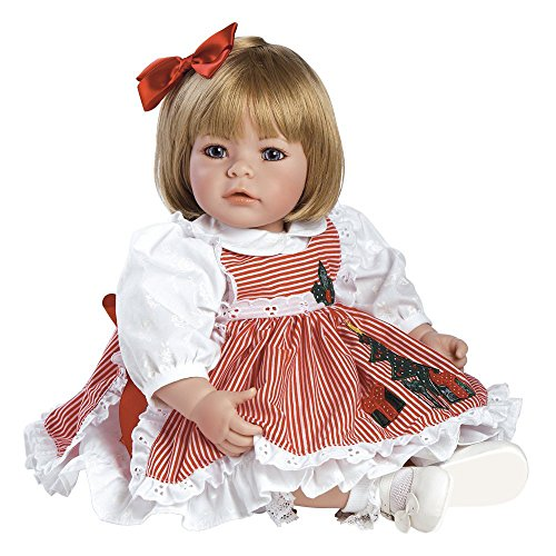 """51kdomME35L - Adora Toddler Pin-A-Four Seasons 20"""" Girl Weighted Doll Gift Set for Children 6+ Huggable Vinyl Cuddly Snuggle Soft Body Toy"""