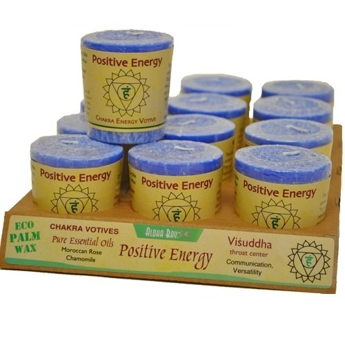 Aloha Bay Chakra Votive Candle, Positive Energy