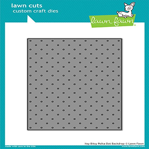 Lawn Fawn Lawn Cuts Custom Craft Die - LF1721 Itsy Bitsy Polka Dot Backdrop