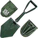 Kyпить NATO Emergency Military Grade Shovel use it as a garden or snow foldable spade - 365 Day Guarantee (Green) на Amazon.com