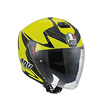 Casco Agv K-5 Jet Multi Threesixty Amarillo T-ML