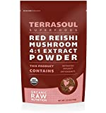 Red Reishi Mushroom Powder 4:1 Extract (Organic), 5.5-ounce