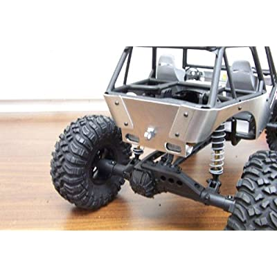 Aluminum Axial Wraith Tail Light Protector with Tow Hook: Toys & Games