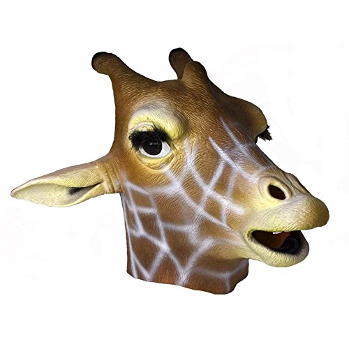 Latex Full Head GIRAFFE
