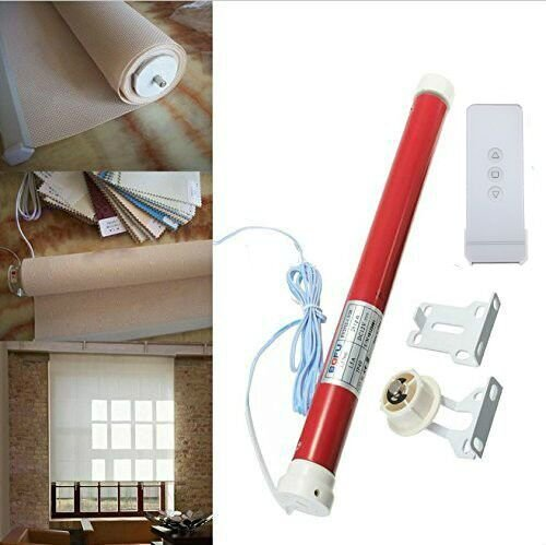 morningrising-12v-diy-electric-roller-blind-shade-tubular-25mm-motor-kit-remote-controller