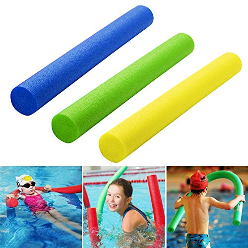 Monkys Swim Noodles Swimming Pool Foam 59Inch Woggle Noodle Float Aid Aerobics Water Sports Toy for Children and Adults